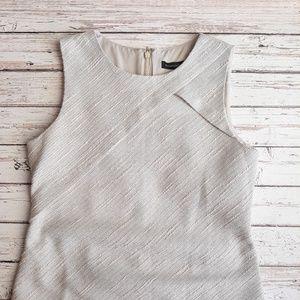 Banana Republic Dress Tweed Boucle Sheath Size 8